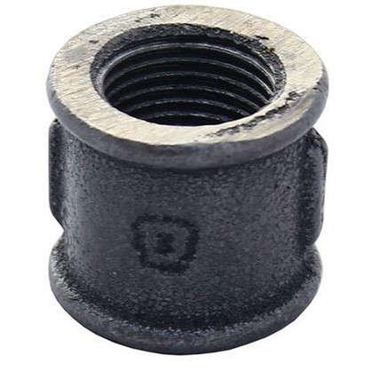 Муфта внутренняя резьба 1 1/4 мм чугун цвет черный