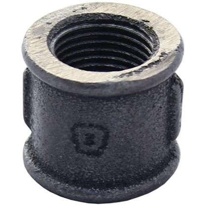 Муфта внутренняя резьба 3/4 мм чугун цвет черный