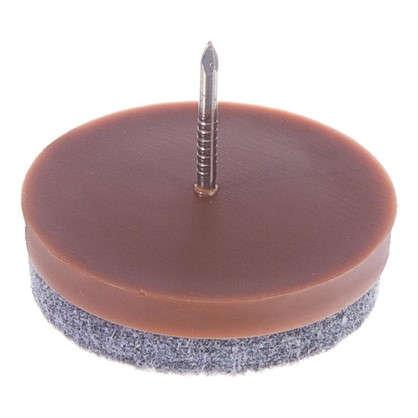 Купить Набойки фетровые Standers 35 мм круглые войлок цвет коричневый 4 шт. дешевле