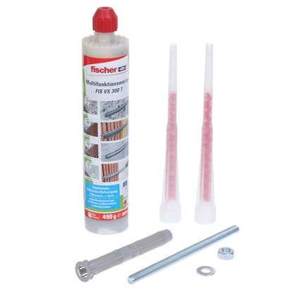Купить Набор: анкер химический FISVS300Т для бетона кирпича и пенобетона шпильки гильзы дешевле