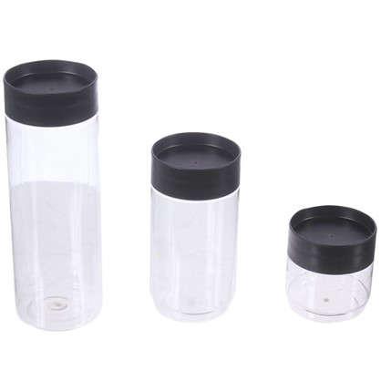 Набор банок для сыпучих продуктов 0.5 л/1 л/1.5 л