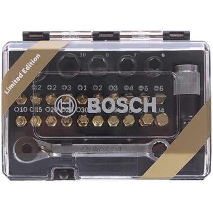 Набор бит с ключом-трещоткой Bosch 27 шт.