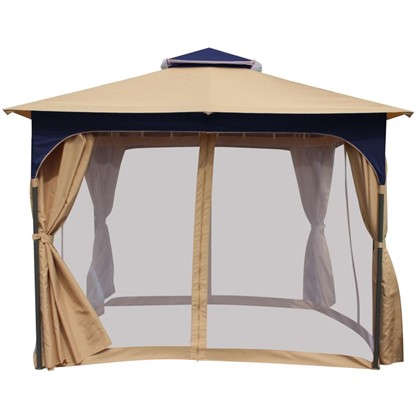 Купить Набор для павильона Сапфир: штора сетка тент сумка для переноскицвет белый дешевле