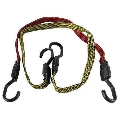 Набор эластичных веревок с крюками 6 шт.