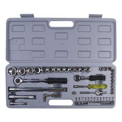 Набор инструмента Top Tools сменные головоки и насадки 1/2 52 шт.