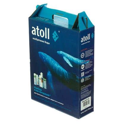 Набор картриджей Atoll А-301 для нормальной воды 3 ступени