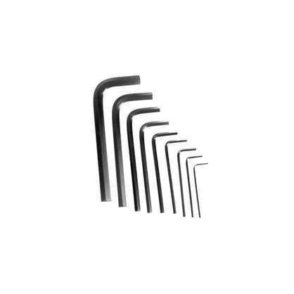 Набор ключей Topex шестигранник Hex 1.5-10 мм 9 шт.