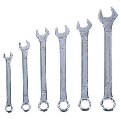 Набор комбинированных ключей Top Tools 8-17 мм 6 шт.