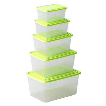 Набор контейнеров для хранения продуктов 5 шт. цена