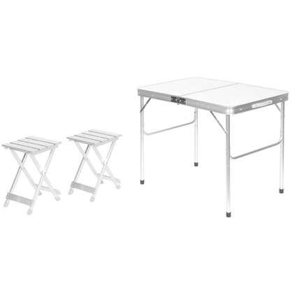 Купить Набор мебели для пикника 3 предмета алюминий дешевле