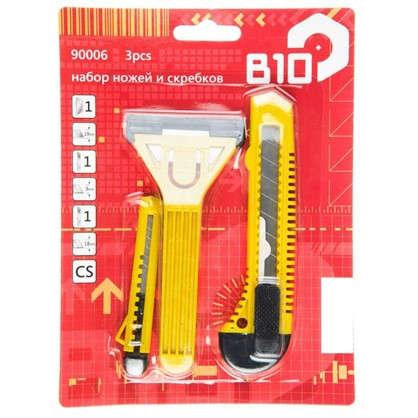 Купить Набор ножей и скребков пластик 3 шт. дешевле