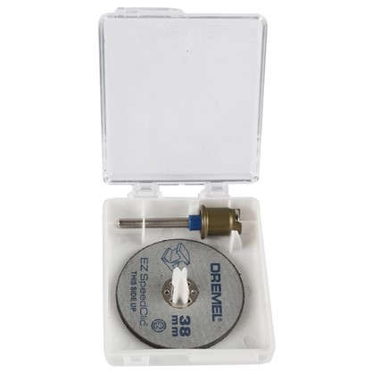 Купить Набор отрезных кругов Dremel SpeedClic SC406 резка металла 38 мм 2 шт. дешевле