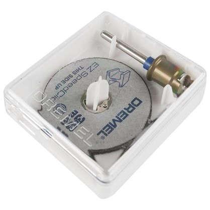 Набор отрезных кругов Dremel SpeedClic SC406 резка металла 38 мм 2 шт.