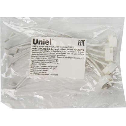 Купить Набор патронов керамических Uniel GU4/GU5.3 4 шт. дешевле