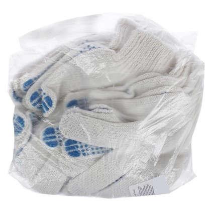 Набор перчаток х/б с ПВХ 6 пар в упаковке