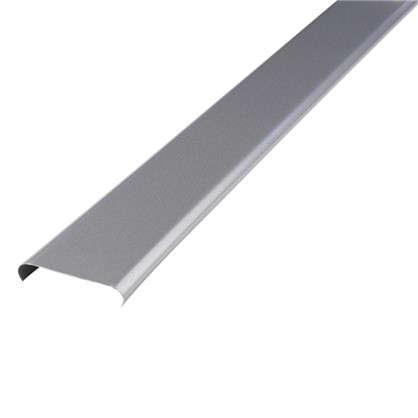 Набор реек 2.5х1 м цвет серебристый металлик без раскладки