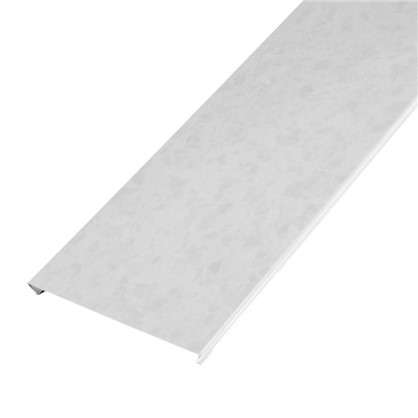 Купить Набор реек 2.5х1.05 м цвет белый мрамор дешевле