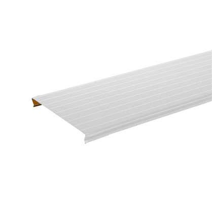 Набор реек Artens 3х1.05 м цвет жемчужно-белый с металлической полосой