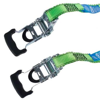 Набор ремней Standers полиэстер цвет зеленый 4 шт.