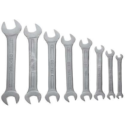 Купить Набор рожковых ключей Dexter CR-V 6-22 мм 8шт. дешевле