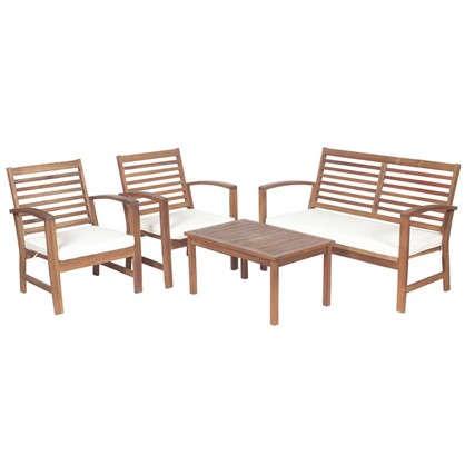 Купить Набор садовой мебели 4 предмета акация дешевле