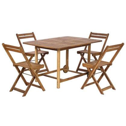 Купить Набор садовой мебели NATERIAL 5 предметов дешевле
