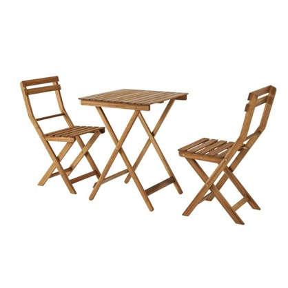 Купить Набор садовой мебели Порто компакт акация 3 предмета дешевле
