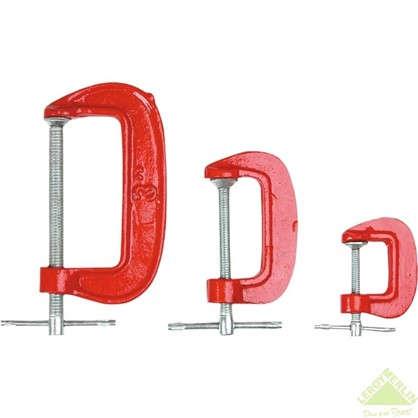 Набор струбцин G-образных Top Tools 3 шт.