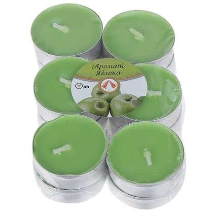 Набор свечей чайных ароматизированных Зелёное яблоко 12 шт.