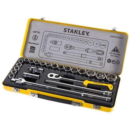 Купить Набор торцевых головок Stanley 1/2 дюйма 24 предмета дешевле