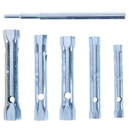 Набор торцевых ключей Sparta 8х17 мм воротка 6 шт.