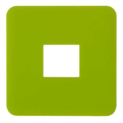 Накладка для телефонной розетки RJ11-12-45 Lexman цвет зелёный