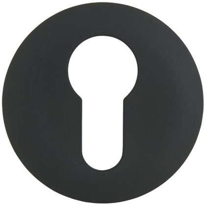 Накладка дверная Фабрика замков P 1 ET цвет матовый черный