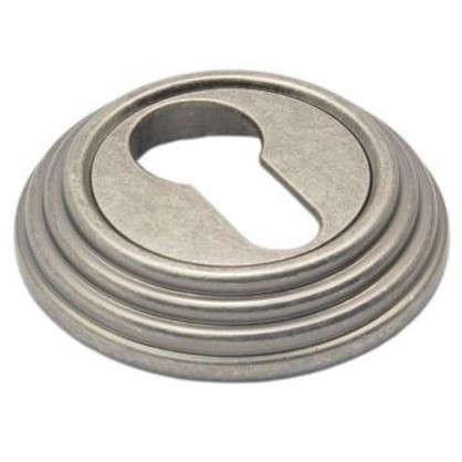 Накладка на цилиндр EDS-SC V001 AGED SILVER цвет античное серебро