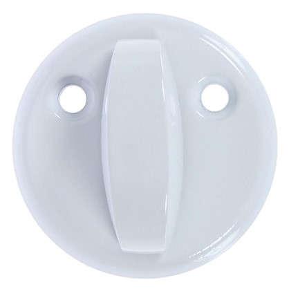 Купить Накладка на цилиндр Фабрика замков Е 003 цвет белый дешевле