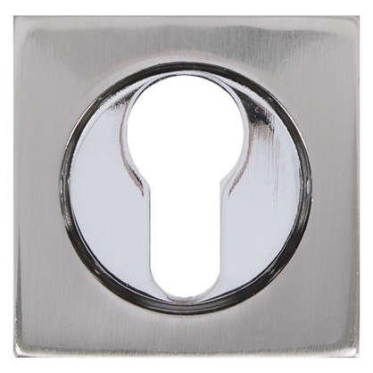 Купить Накладка на цилиндр Inspire 54 мм цвет никель дешевле