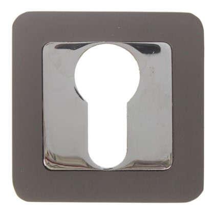 Накладка под цилиндр ET QR GR/CP-23 цвет графит/хром