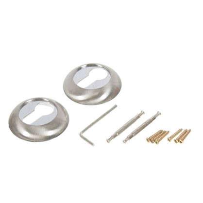 Купить Накладка под цилиндр ET TL SN/CP-3 цвет матовый никель/хром дешевле