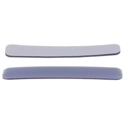 Накладки Standers PTFE 15x100 мм прямоугольные пластик цвет серый 2 шт.