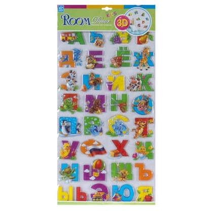 Купить Наклейка 3D Азбука RRA 1101 дешевле