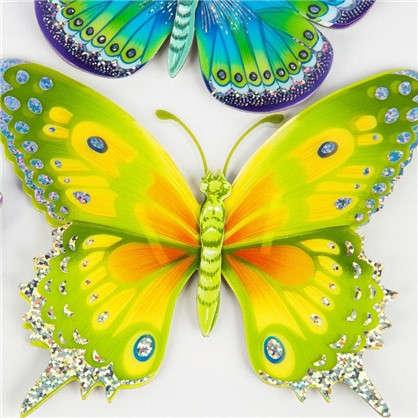 Купить Наклейка 3D Бабочки CBA 3119 дешевле