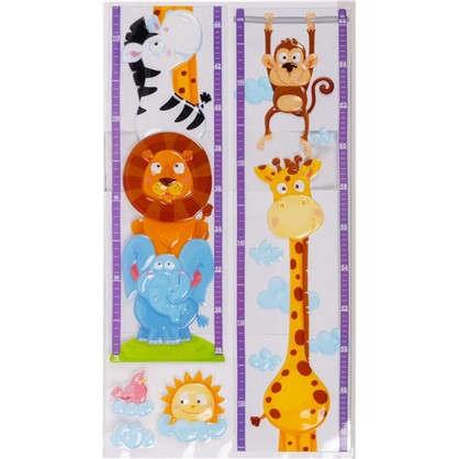 Наклейка 3D Животные POA 3205