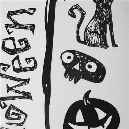 Наклейка Канун Хеллоуина светящаяся Декоретто