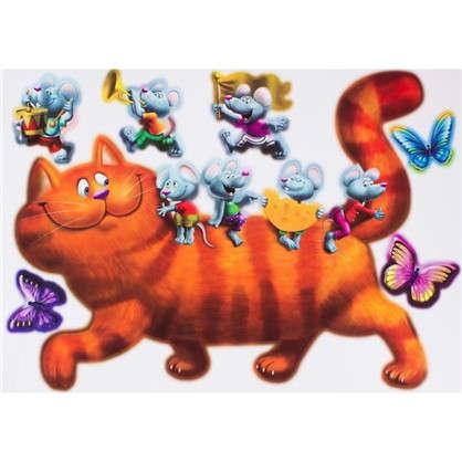 Наклейка Кошки-мышки Декоретто XL