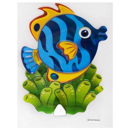 Наклейка-крючок Рыбка SHA0304