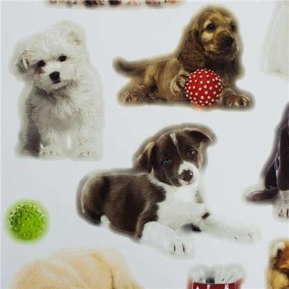 Наклейка Любимые щенки Декоретто L