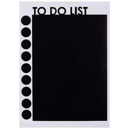 Купить Наклейка меловая для записей To do list дешевле
