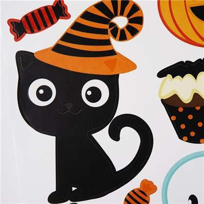 Наклейка на Halloween Друзья и колдуньи Декоретто