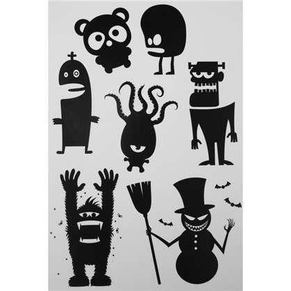Наклейка на Halloween Монстр из-под кровати Декоретто