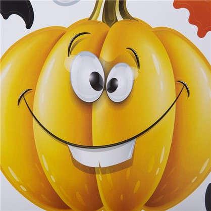 Наклейка на Halloween Праздничная тыква Декоретто